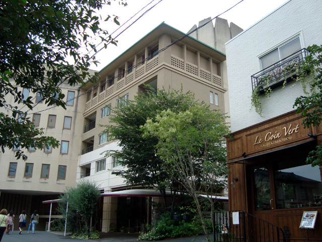 アグネスホテル アンド アパートメンツ東京 外観