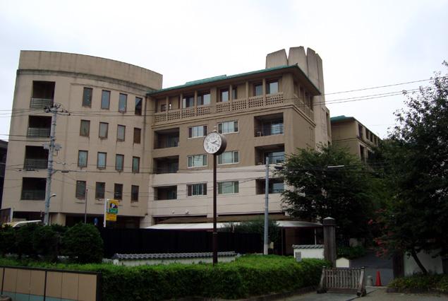 アグネスホテル アンド アパートメンツ東京の全景