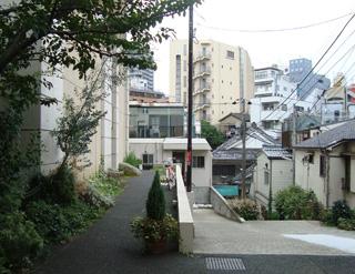アグネスホテル アンド アパートメンツ東京裏手の神楽坂界隈