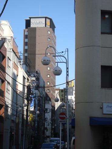 アパホテル<新橋 御成門>