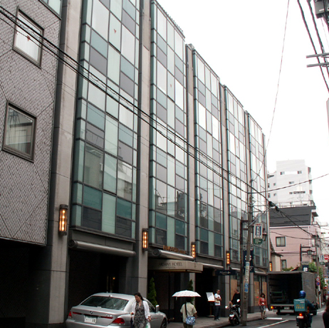 渋谷・アリマックスホテルの外観