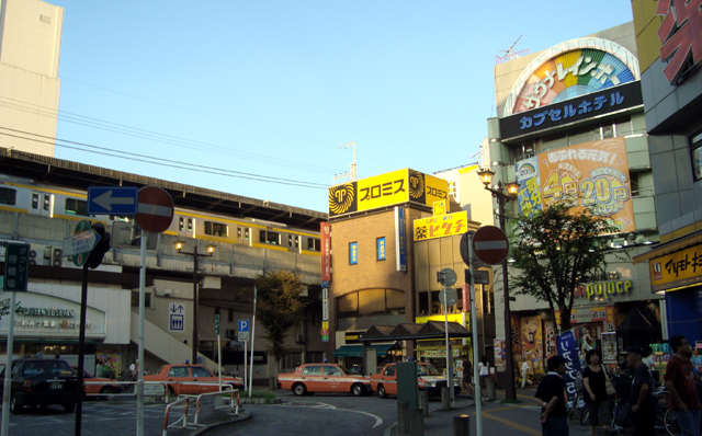 サウナ&カプセルホテル レインボー本八幡店(JR本八幡駅南口前広場)