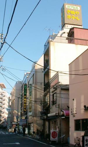 旧・カプセルきぬやホテル上野