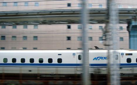 チサンホテル浜松町と新幹線