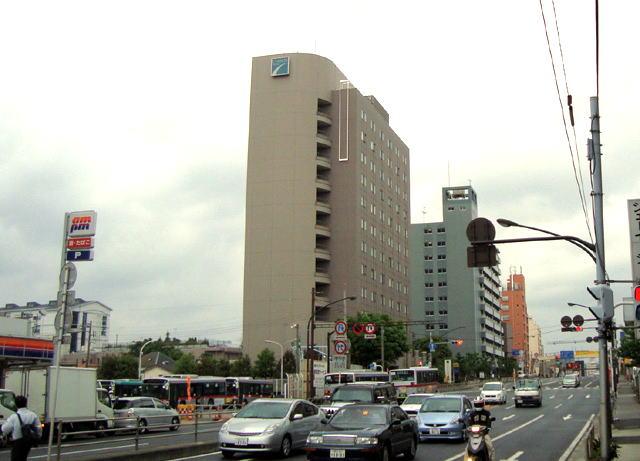 第二京浜に面したチサンホテル品川ウエスト外観