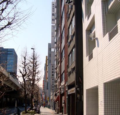 キューブホテル上野・入谷口周辺の景観