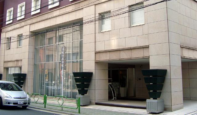 ヴィラフォンテーヌ東京八丁堀、1階エントランス部分