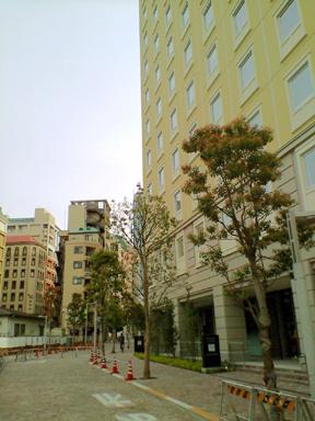 三井ガーデンホテル汐留イタリア街(開業直前の外観)