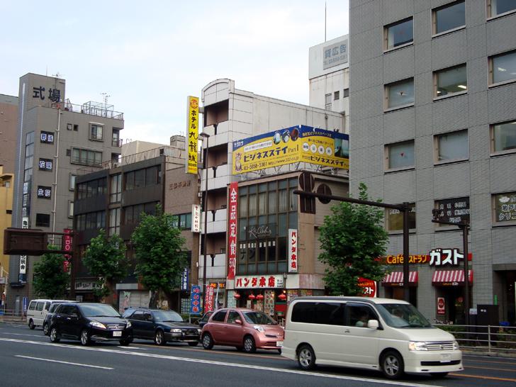 ホテル九龍城(京葉道路側外観)