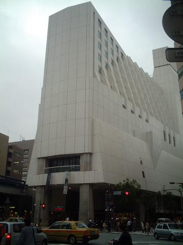 ホテル西洋 銀座 全景