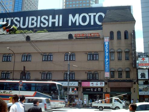 京品ホテル正面(2004/08写)