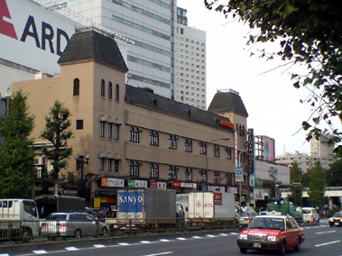 京品ホテル外観(2007/11)