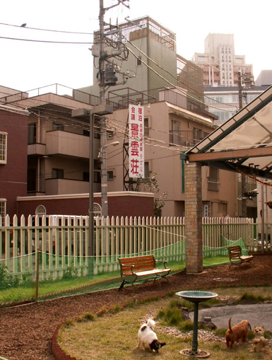 景雲荘と「ドッグ・ガーデン・パトリ」