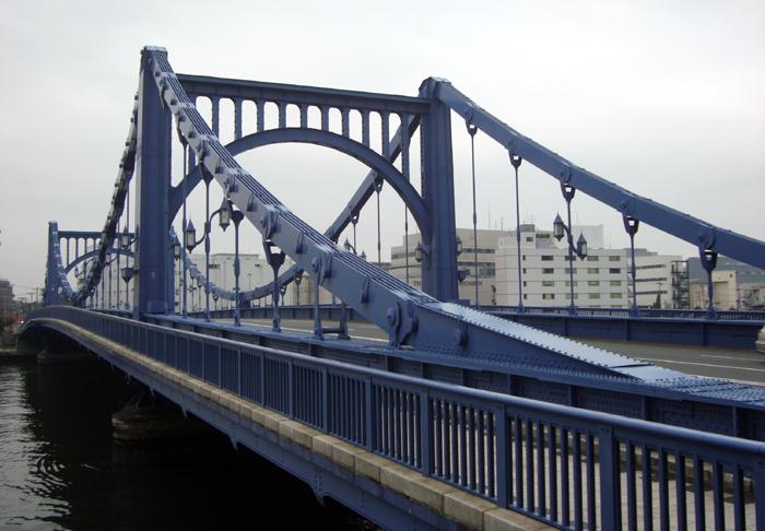 都内屈指の優美さを誇る「清洲橋」