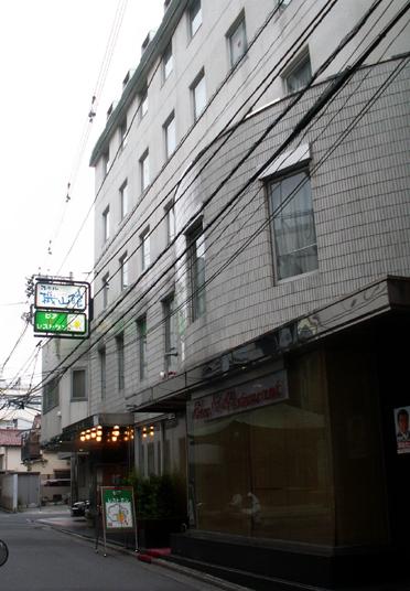 ホテル機山館 全景