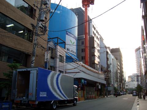 建設中のマークス秋葉原(2009/5)
