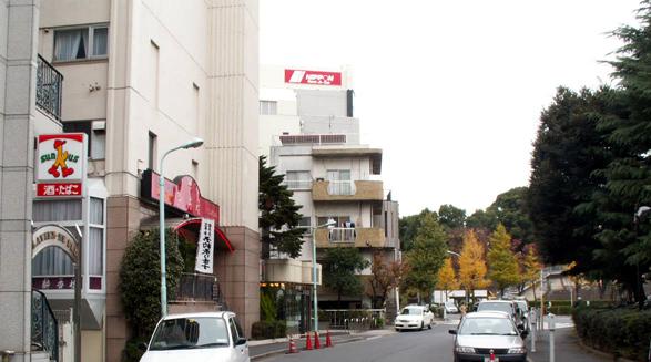 渋谷・ホテルニューワシントン付近の景観