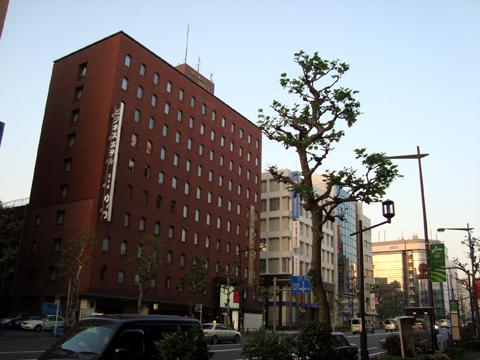 ビジネスホテル日本橋ヴィラ外観