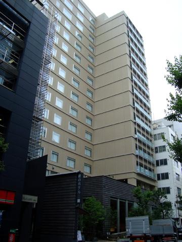 庭のホテル東京 全景