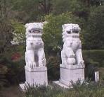 大隈庭園内の石像