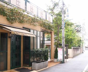 ホテルローズガーデン新宿付属の(旧)別館と割烹「栗吉」