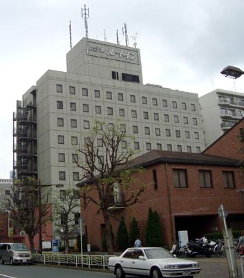 ルートイン東京東陽町:南側からの外観