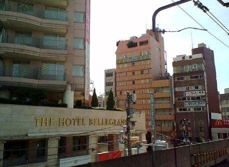 ザ・ホテルベルグランデと両国リバーホテル