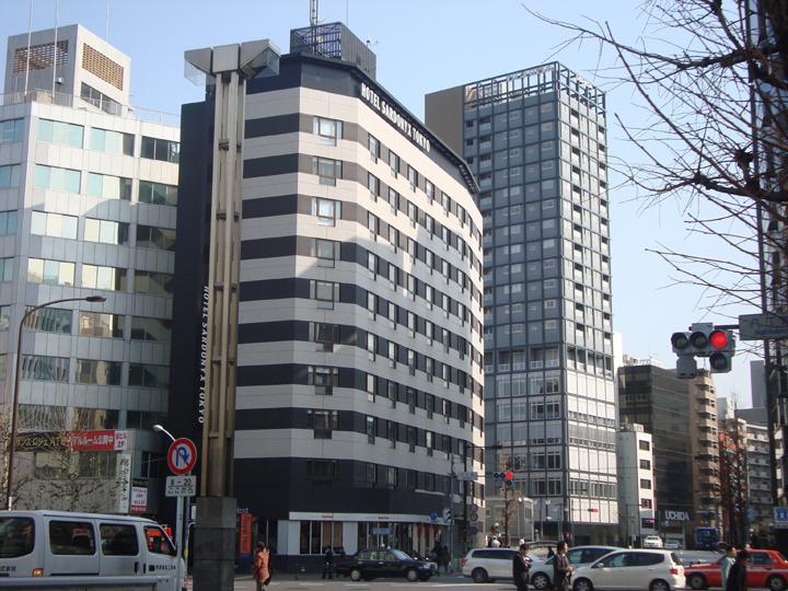 ホテルサードニクス東京外観