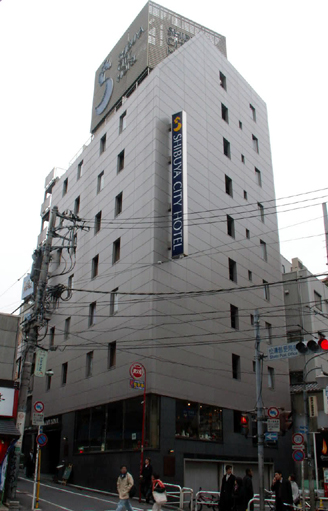 渋谷シティホテルの外観