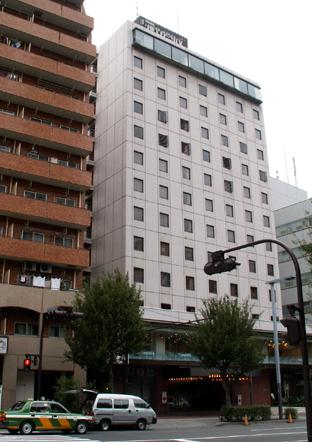 新宿ニューシティホテル全景