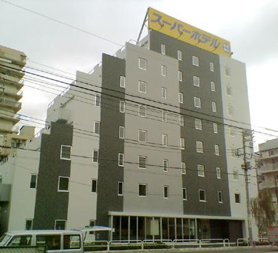 スーパーホテル品川・青物横丁外観