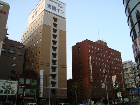 東横イン 浅草橋交差点