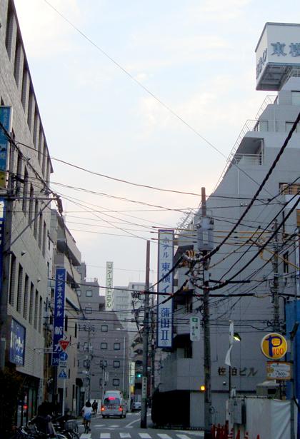 東横イン蒲田2と周辺