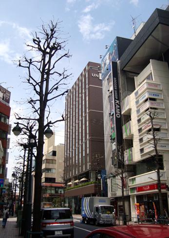 ホテル ユニゾ渋谷全景