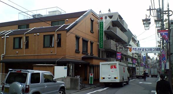 ウィークリーマンション品川と旧東海道
