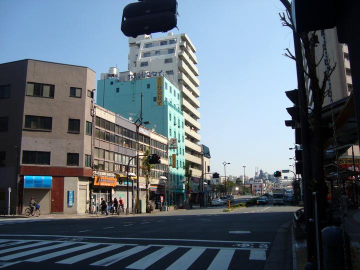 旧・ビジネスホテル サンセイ蒲田店(2011/3)