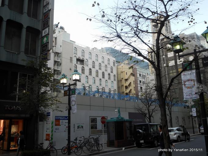 ハイアット セントリック 銀座 東京(2015/11工事現場)