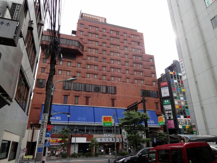旧・ホテルアイビス六本木(2013/7)